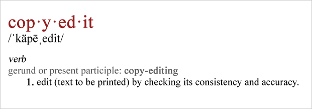 copy editing tips
