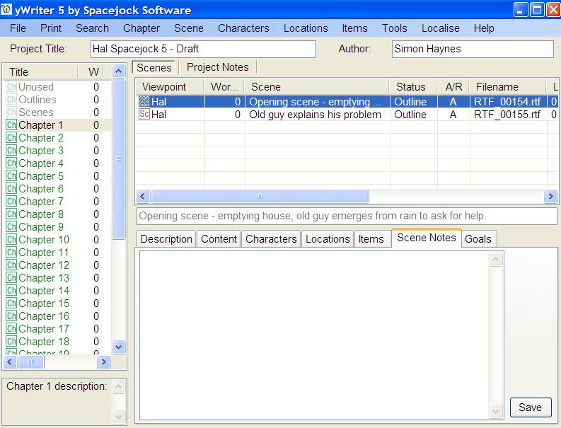 ywriter-screenshot