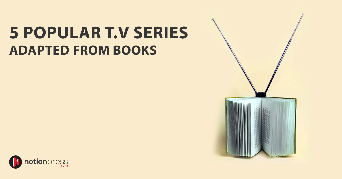 T V series adapted from books