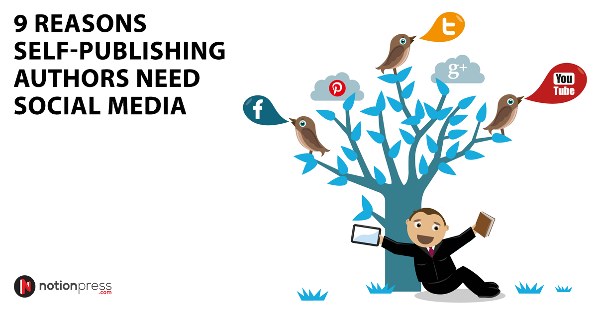 reasons author need social media