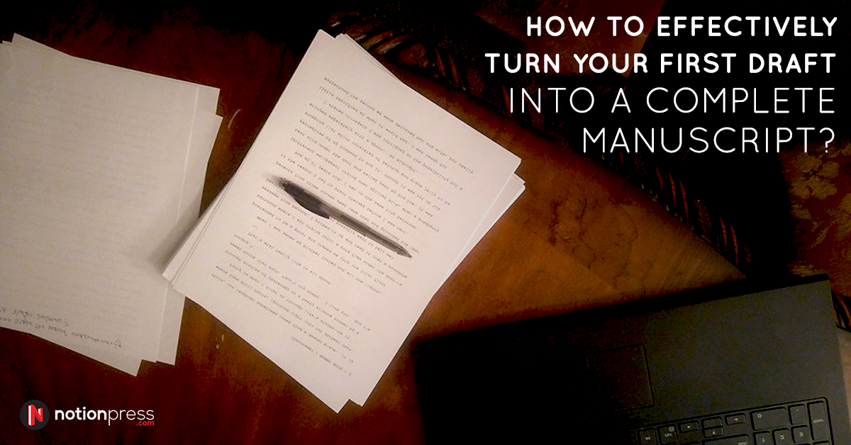 how to write manuscript