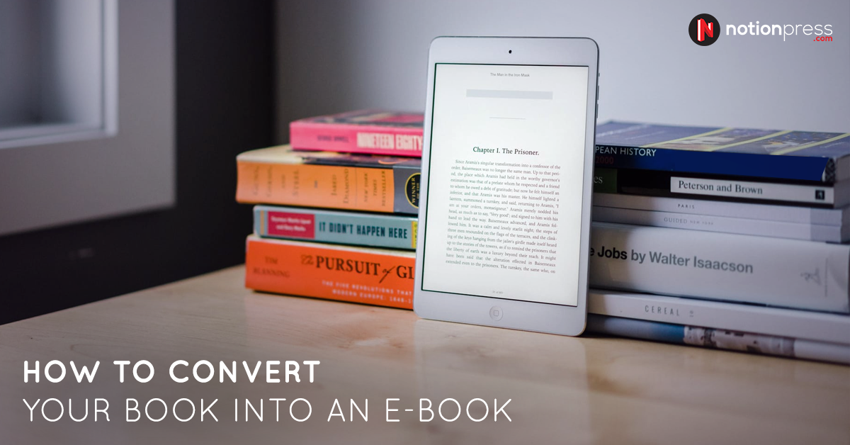 How to convert your book into an ebook notion press blog convert book stopboris Images