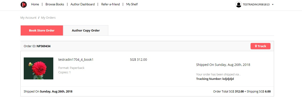 Track author copy orders easily on the Notion Press Dashboard now