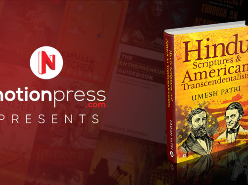 Hindu Scriptures and American Transcendentalists Book Cover Banner