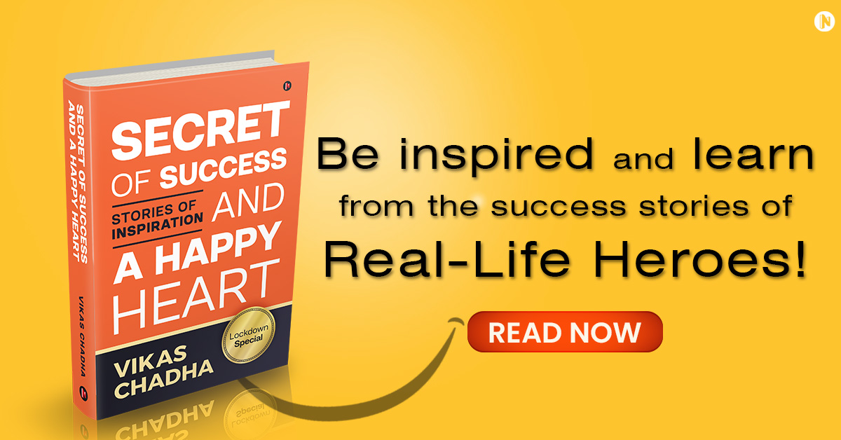 Secret of Success and a Happy Heart Banner