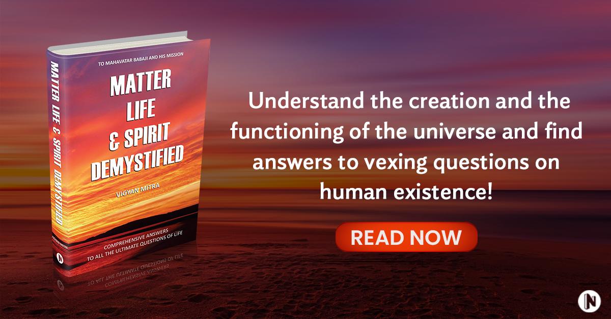 Matter Life & Spirit Demystified Banner