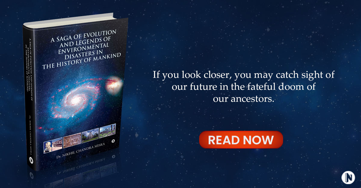 A Saga of Evolution and Legends of Environmental Disasters in the History of Mankind Banner