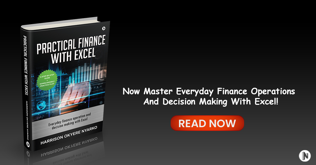 PRACTICAL FINANCE with EXCEL Banner