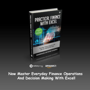 PRACTICAL FINANCE with EXCEL Buy Now