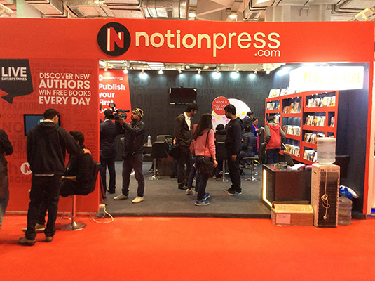Notion Press at the International Book Fair