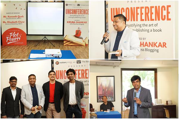 Notion Press Unconference - Singapore 2017