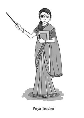 Priya teacher
